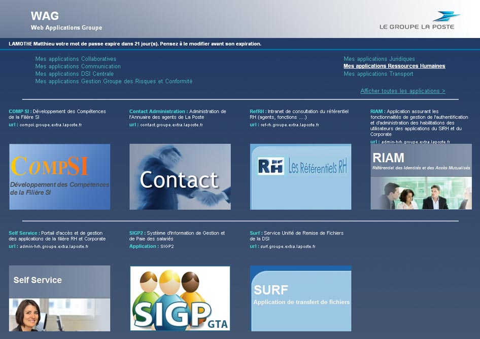Customer testimonial SSO and single sign-on: La Poste