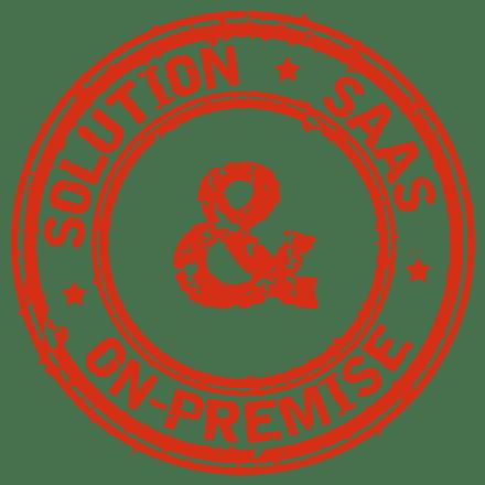 Solution disponible en SaaS et On-Premise